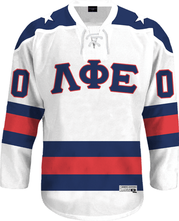 Lambda Phi Epsilon - Astro Hockey Jersey Hockey Kinetic Society LLC