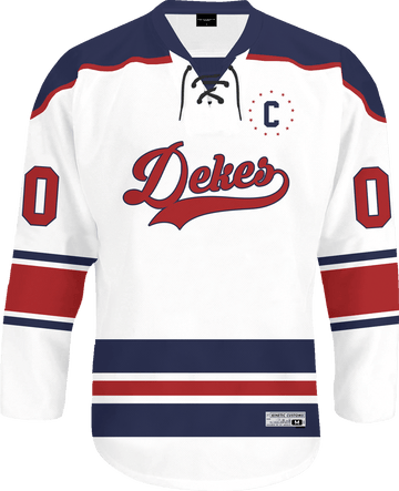Delta Kappa Epsilon - Captain Hockey Jersey - Kinetic Society