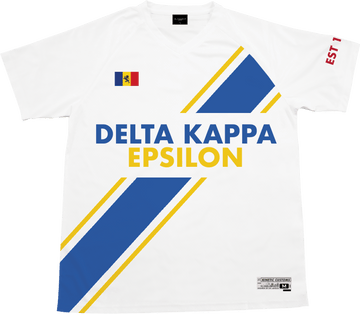 Delta Kappa Epsilon - Home Team Soccer Jersey - Kinetic Society