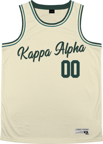 Kappa Alpha Order - Buttercream Basketball Jersey - Kinetic Society