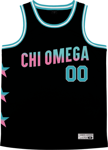 Chi Omega - Cotton Candy Basketball Jersey - Kinetic Society