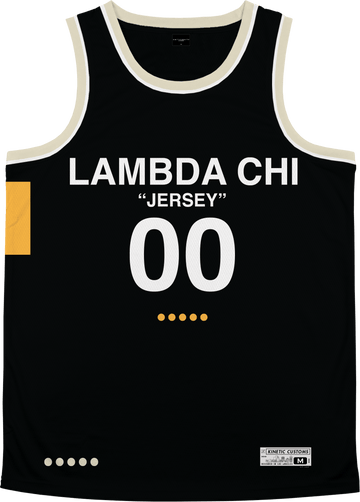 Lambda Chi Alpha - OFF-MESH Basketball Jersey Premium Basketball Kinetic Society LLC