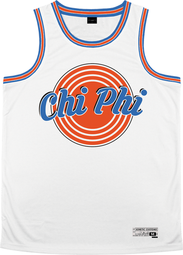 Chi Phi - Vintage Basketball Jersey - Kinetic Society