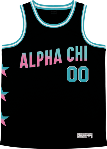 Alpha Chi Omega - Cotton Candy Basketball Jersey - Kinetic Society
