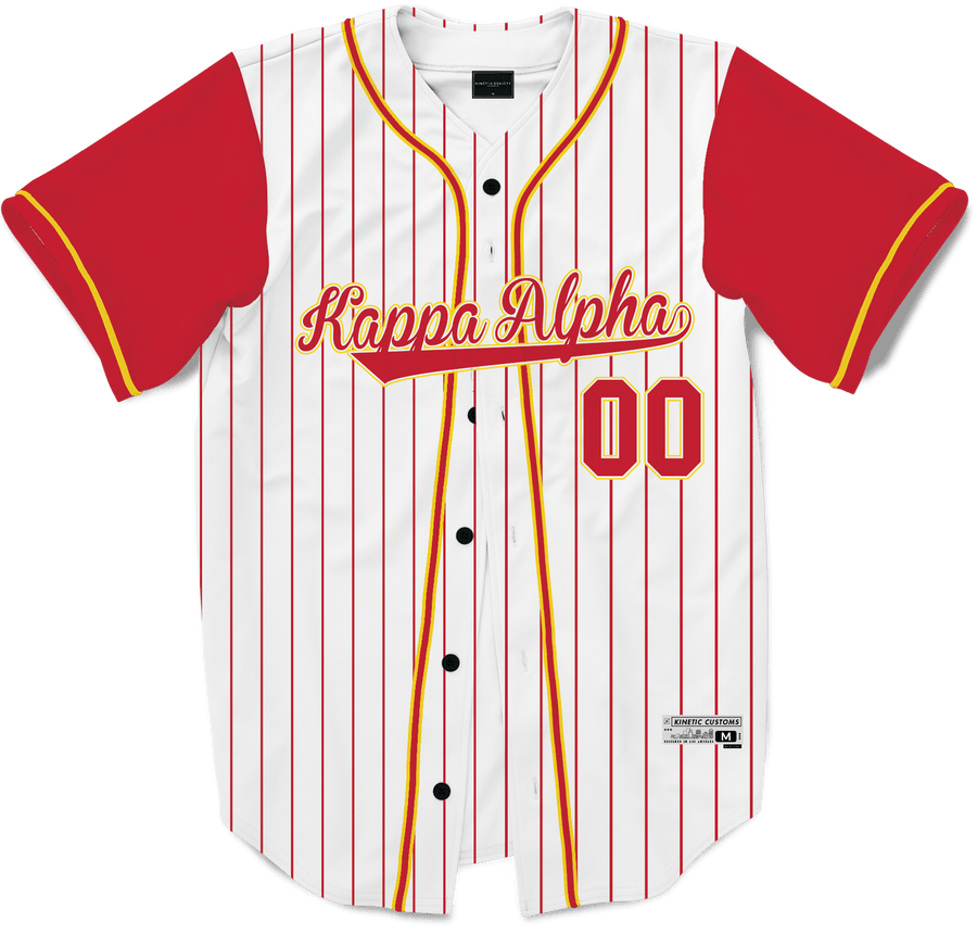 Kappa Alpha Order - House Baseball Jersey - Kinetic Society