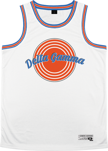 Delta Gamma - Vintage Basketball Jersey - Kinetic Society