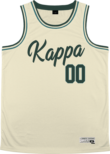 Kappa Kappa Gamma - Buttercream Basketball Jersey - Kinetic Society