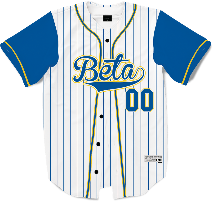 Beta Theta Pi - House Baseball Jersey Premium Baseball Kinetic Society LLC