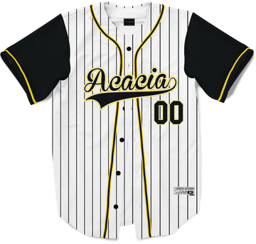 Acacia - House Baseball Jersey Premium Baseball Kinetic Society LLC