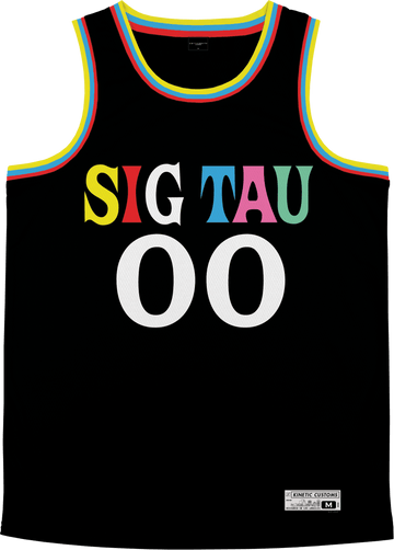 Sigma Tau Gamma - Crayon House Basketball Jersey - Kinetic Society