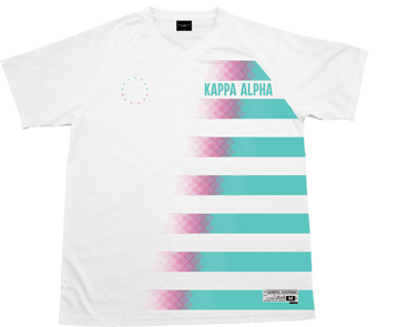 Kappa Alpha Order - White Candy Floss Soccer Jersey - Kinetic Society