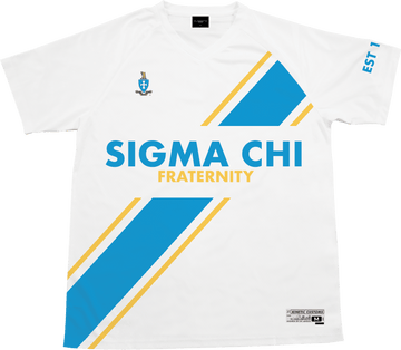 Sigma Chi - Home Team Soccer Jersey - Kinetic Society