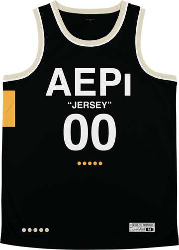 Alpha Epsilon Pi - OFF-MESH Basketball Jersey Premium Basketball Kinetic Society LLC