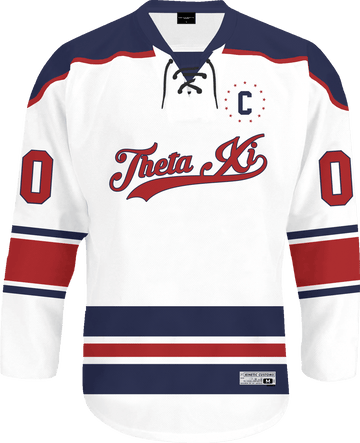 Theta Xi - Captain Hockey Jersey - Kinetic Society