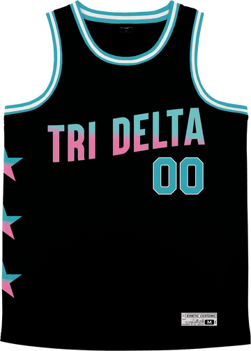Delta Delta Delta - Cotton Candy Basketball Jersey - Kinetic Society