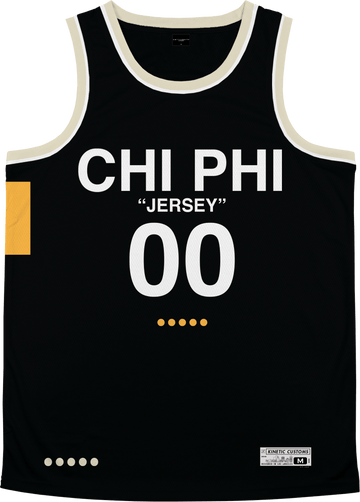 Chi Phi - OFF-MESH Basketball Jersey - Kinetic Society