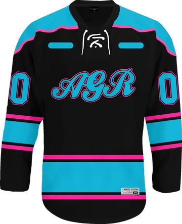 Alpha Gamma Rho - Tokyo Nights Hockey Jersey - Kinetic Society