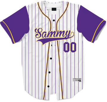 Sigma Alpha Mu - House Baseball Jersey - Kinetic Society