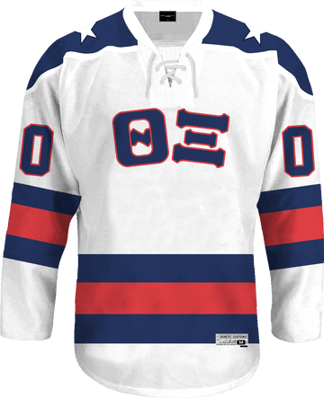 Theta Xi - Astro Hockey Jersey - Kinetic Society