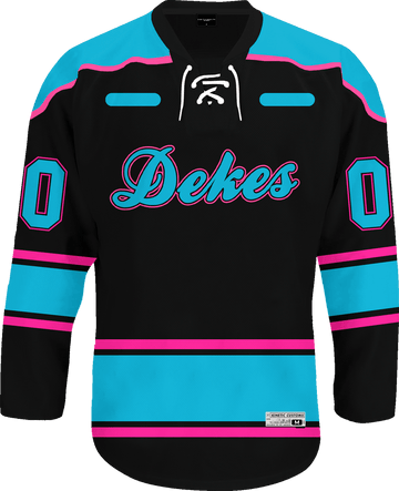 Delta Kappa Epsilon - Tokyo Nights Hockey Jersey - Kinetic Society