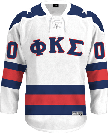 Phi Kappa Sigma - Astro Hockey Jersey Hockey Kinetic Society LLC