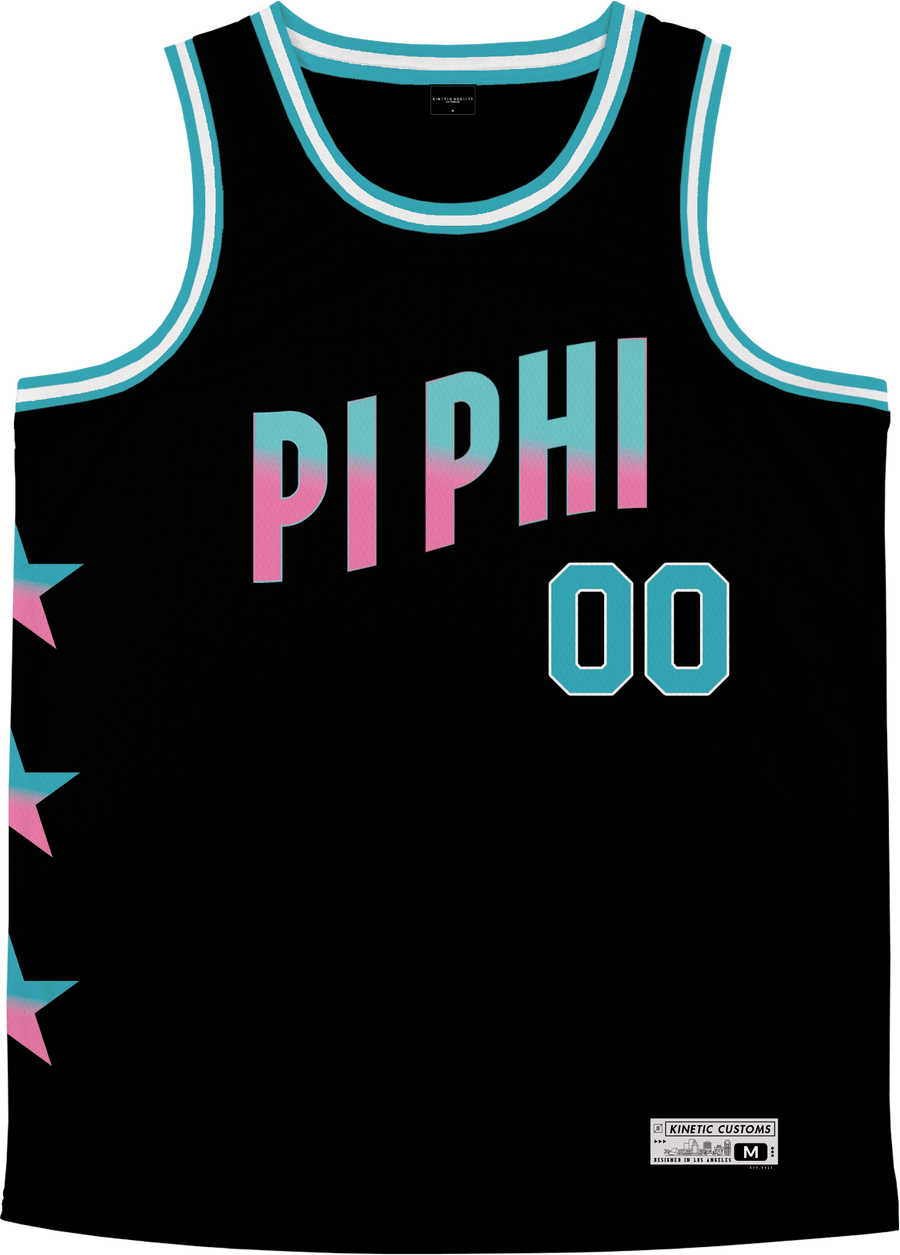 Pi Beta Phi - Cotton Candy Basketball Jersey Premium Basketball Kinetic Society LLC