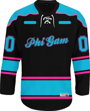 Phi Gamma Delta - Tokyo Nights Hockey Jersey Hockey Kinetic Society LLC
