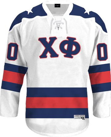 Chi Phi - Astro Hockey Jersey - Kinetic Society