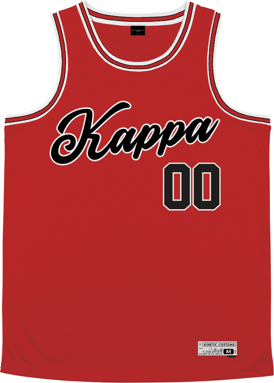 Kappa Kappa Gamma - Big Red Basketball Jersey - Kinetic Society