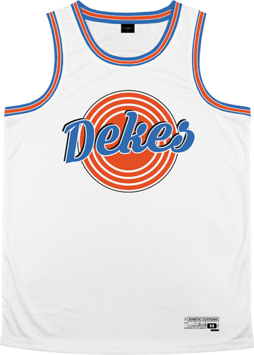 Delta Kappa Epsilon - Vintage Basketball Jersey - Kinetic Society