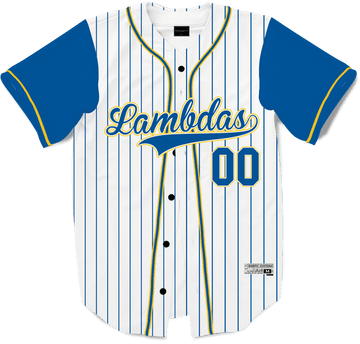 Lambda Phi Epsilon - House Baseball Jersey Premium Baseball Kinetic Society LLC