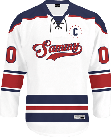Sigma Alpha Mu - Captain Hockey Jersey - Kinetic Society