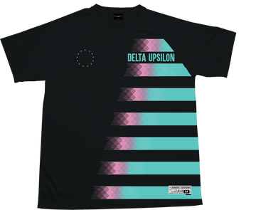 Delta Upsilon - Candy Floss Soccer Jersey - Kinetic Society