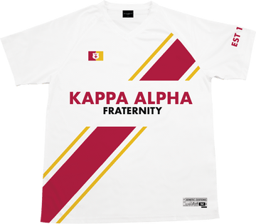 Kappa Alpha Order - Home Team Soccer Jersey - Kinetic Society