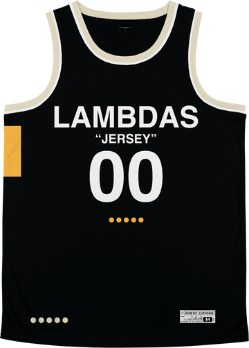 Lambda Phi Epsilon - OFF-MESH Basketball Jersey Premium Basketball Kinetic Society LLC