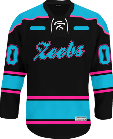 Zeta Beta Tau - Tokyo Nights Hockey Jersey - Kinetic Society