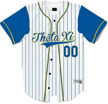 Theta Xi - House Baseball Jersey - Kinetic Society