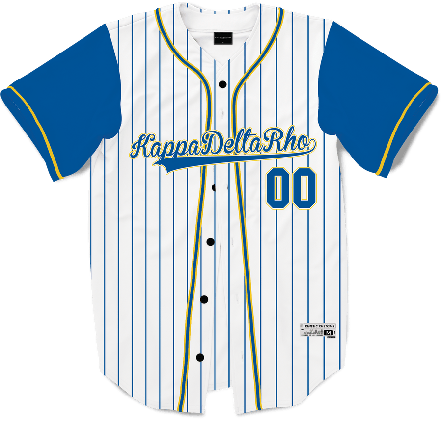 Kappa Delta Rho - House Baseball Jersey - Kinetic Society