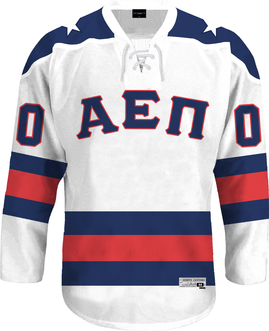 Alpha Epsilon Pi - Astro Hockey Jersey - Kinetic Society