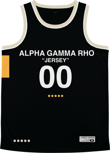 Alpha Gamma Rho - OFF-MESH Basketball Jersey - Kinetic Society