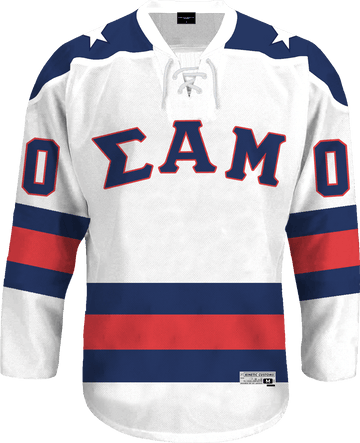 Sigma Alpha Mu - Astro Hockey Jersey - Kinetic Society
