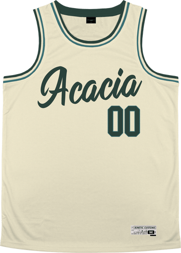 Acacia - Buttercream Basketball Jersey - Kinetic Society