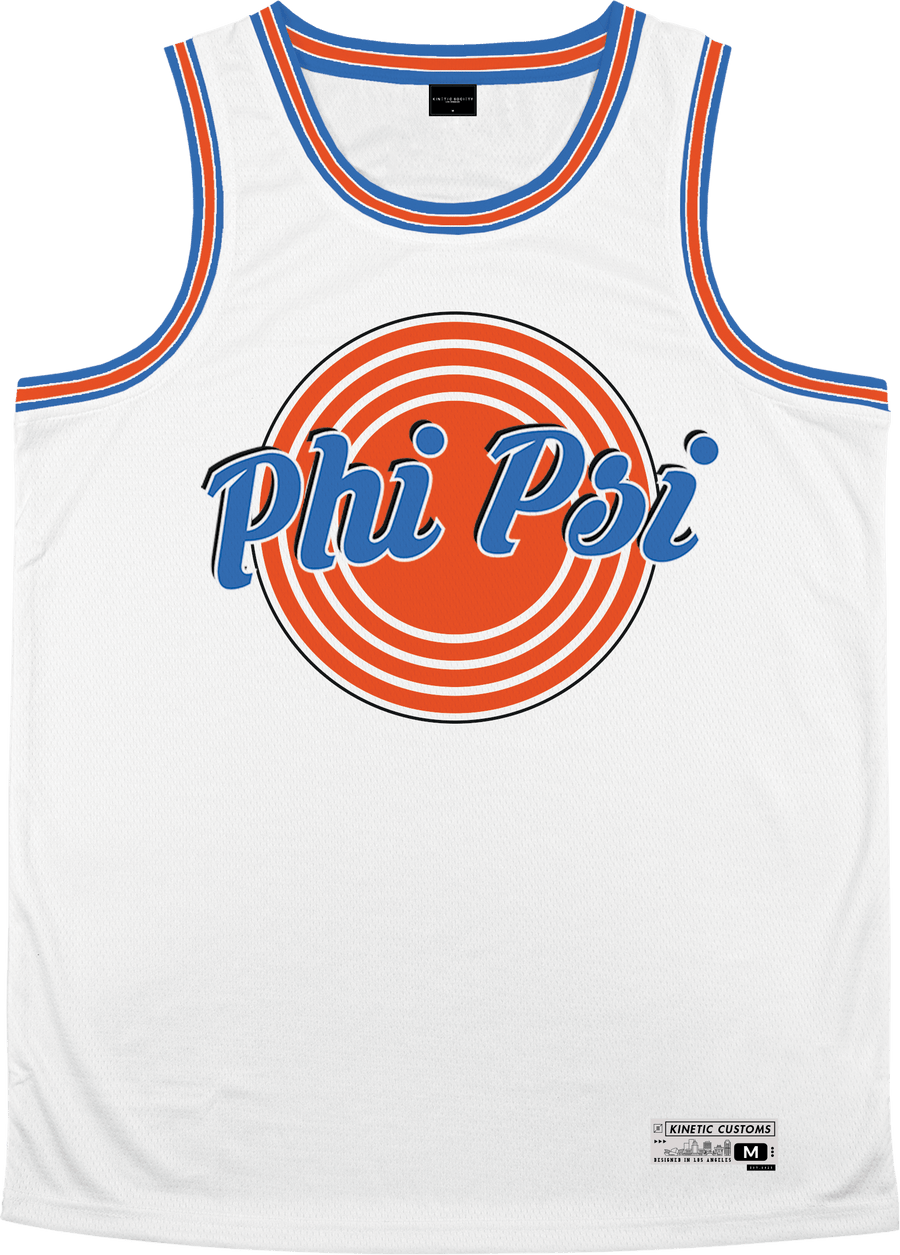 Phi Kappa Psi - Vintage Basketball Jersey - Kinetic Society