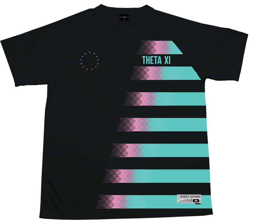 Theta Xi - Candy Floss Soccer Jersey - Kinetic Society
