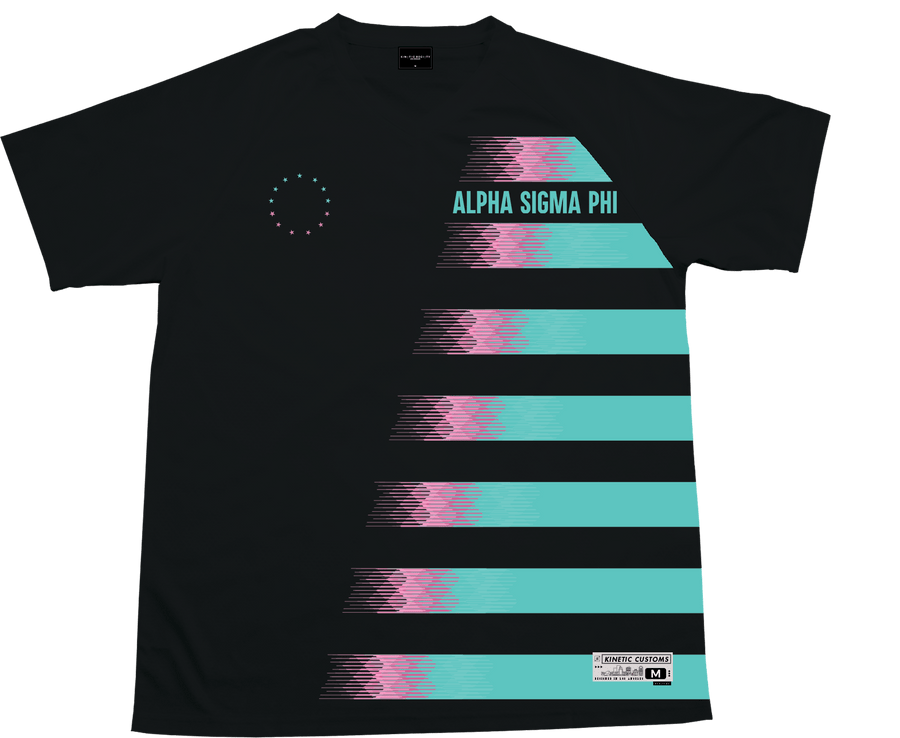 Alpha Sigma Phi - Candy Floss Soccer Jersey - Kinetic Society