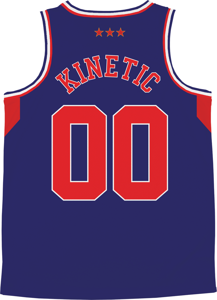 Chi Psi - Retro Ballers Basketball Jersey - Kinetic Society