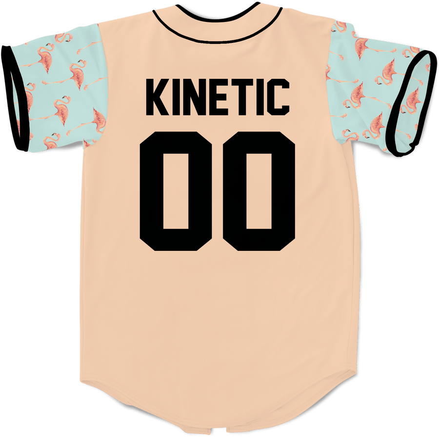 Kappa Delta Rho - Flamingo Fam Baseball Jersey - Kinetic Society