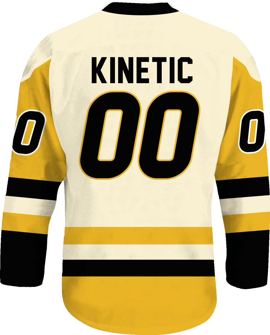 Kappa Alpha Order - Golden Cream Hockey Jersey - Kinetic Society