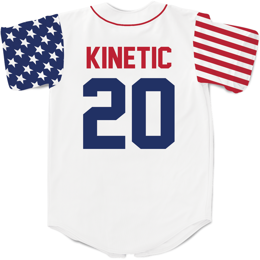 Lambda Chi Alpha - Flagship Baseball Jersey - Kinetic Society