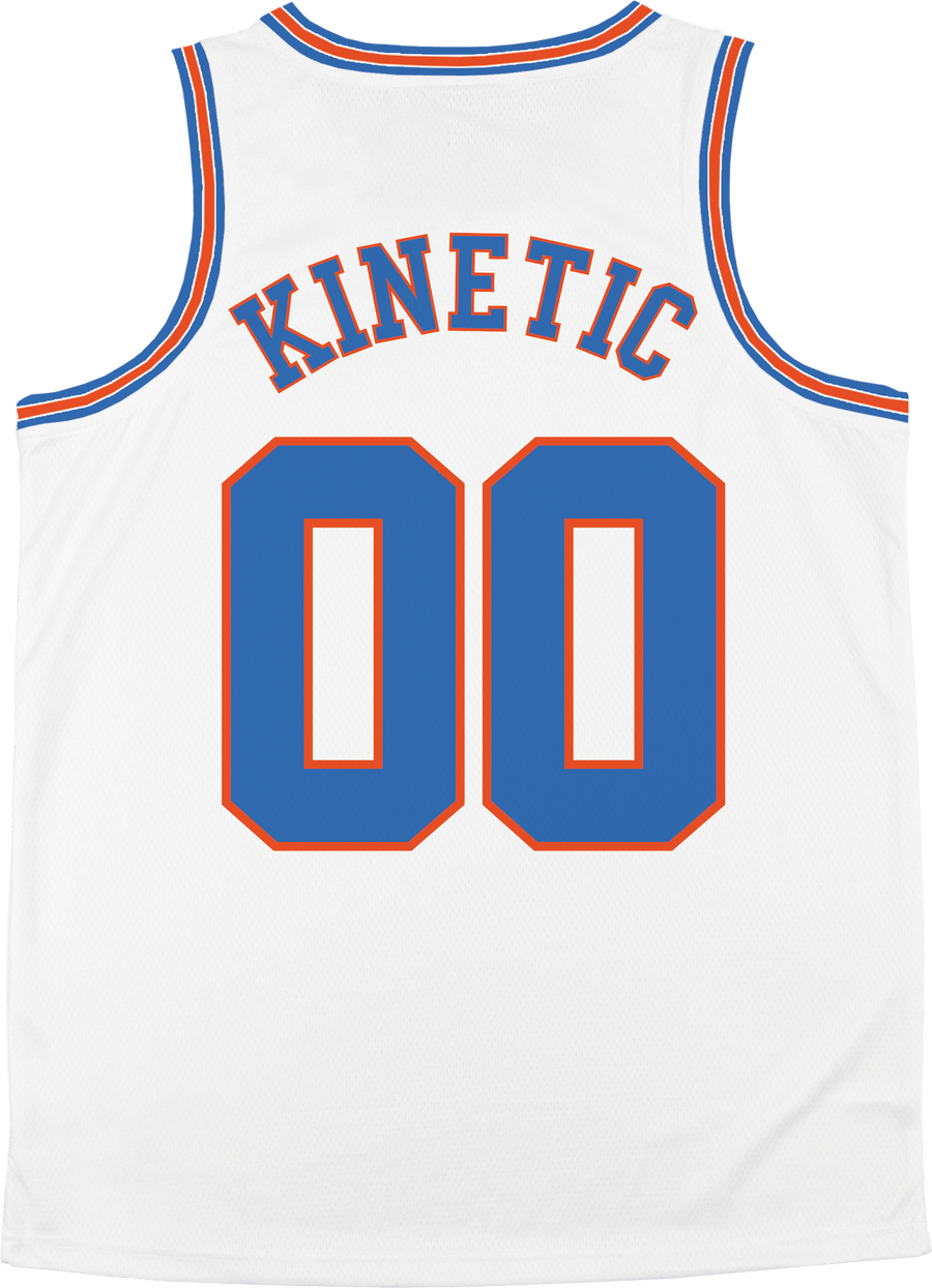 Delta Sigma Phi - Vintage Basketball Jersey - Kinetic Society